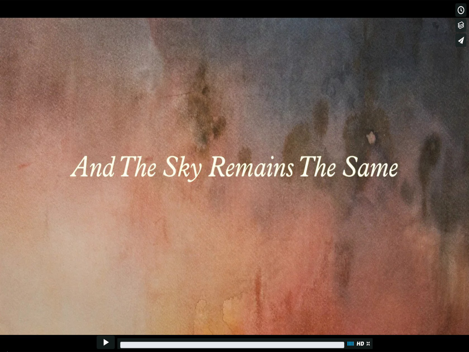 Esther Schwertasek | And The Sky Remains The Same