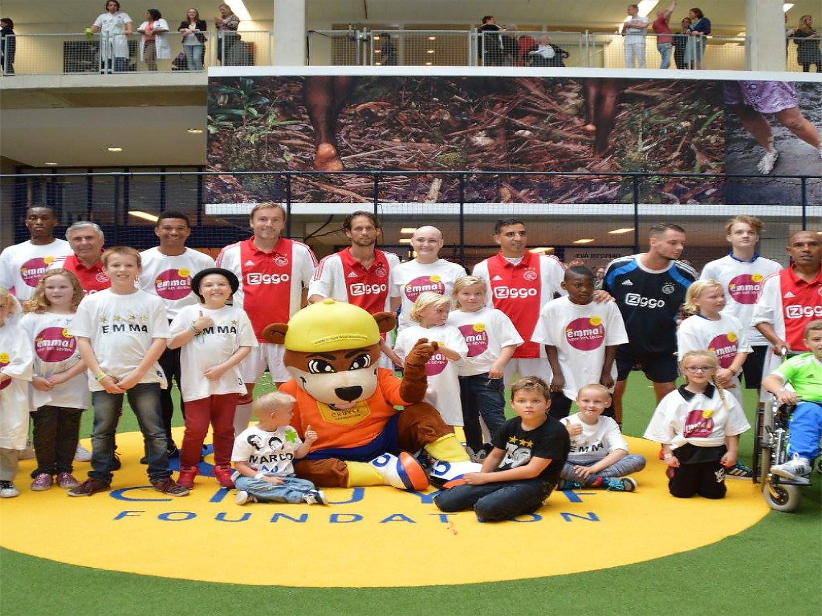 Koning Willem-Alexander bezoekt sportdag georganiseerd door De Denkfabriek